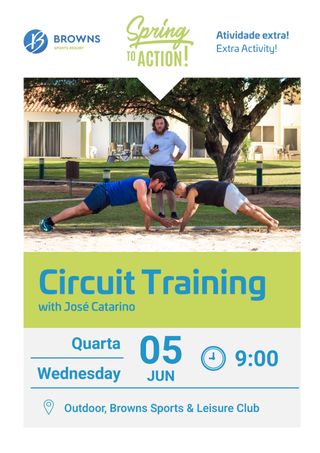 SPRING TO ACTION ▰ Circuit Training