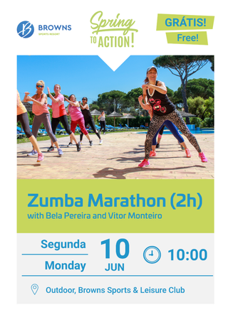 SPRING TO ACTION ▰ Zumba Marathon