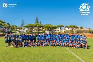 Seleção Escocesa de Rugby preparou-se para o Rugby World Cup no Browns