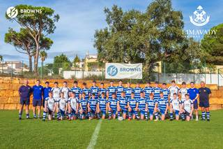 Limavady Grammar School did a Rugby Tour with Browns in 2019